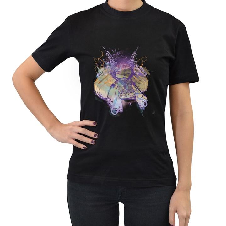Fairy Tale Women s T-shirt (Black)
