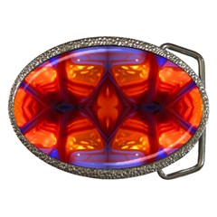 meadow Belt Buckle (Oval)