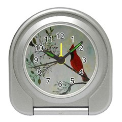 Sweet Red Cardinal Desk Alarm Clock