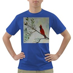 Sweet Red Cardinal Men s T-shirt (Colored)