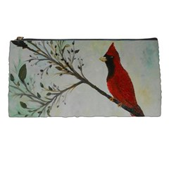Sweet Red Cardinal Pencil Case