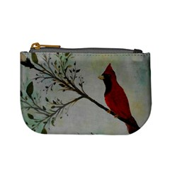 Sweet Red Cardinal Coin Change Purse