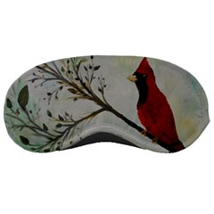 Sweet Red Cardinal Sleeping Mask
