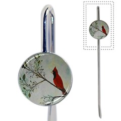 Sweet Red Cardinal Bookmark