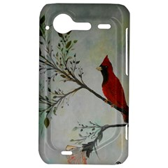 Sweet Red Cardinal HTC Incredible S Hardshell Case