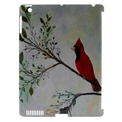 Sweet Red Cardinal Apple Ipad 3/4 Hardshell Case (compatible With Smart Cover)