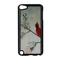 Sweet Red Cardinal Apple iPod Touch 5 Case (Black)