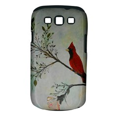Sweet Red Cardinal Samsung Galaxy S III Classic Hardshell Case (PC+Silicone)