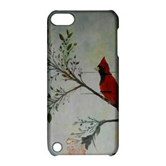 Sweet Red Cardinal Apple iPod Touch 5 Hardshell Case with Stand