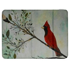 Sweet Red Cardinal Samsung Galaxy Tab 7  P1000 Flip Case
