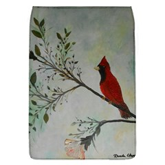 Sweet Red Cardinal Removable Flap Cover (Large)