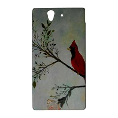 Sweet Red Cardinal Sony Xperia Z (L36H) Hardshell Case
