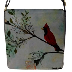 Sweet Red Cardinal Removable Flap Cover (Small)