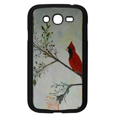 Sweet Red Cardinal Samsung Galaxy Grand DUOS I9082 Case (Black)