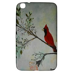Sweet Red Cardinal Samsung Galaxy Tab 3 (8 ) T3100 Hardshell Case