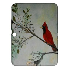Sweet Red Cardinal Samsung Galaxy Tab 3 (10 1 ) P5200 Hardshell Case