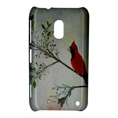 Sweet Red Cardinal Nokia Lumia 620 Hardshell Case
