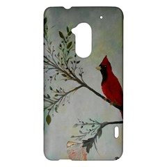 Sweet Red Cardinal HTC One Max (T6) Hardshell Case