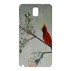 Sweet Red Cardinal Samsung Galaxy Note 3 N9005 Hardshell Back Case