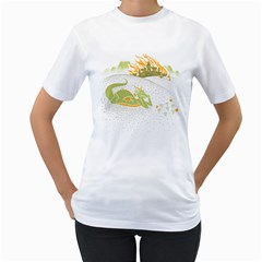 Stop and Smell the Napalm Women s T-Shirt (White)