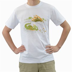 Stop and Smell the Napalm Men s T-Shirt (White)