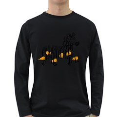 Nothing To Eat Men s Long Sleeve T-shirt (Dark Colored)
