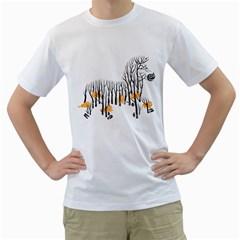 Nothing To Eat Men s T-Shirt (White)