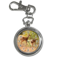 Deer in Nature Key Chain Watch