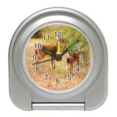 Deer in Nature Desk Alarm Clock