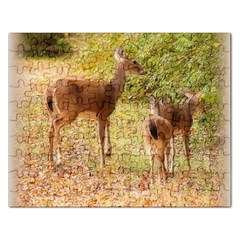 Deer in Nature Jigsaw Puzzle (Rectangle)