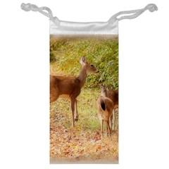 Deer in Nature Jewelry Bag