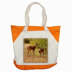 Deer In Nature Accent Tote Bag