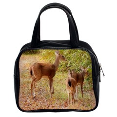 Deer in Nature Classic Handbag (Two Sides)