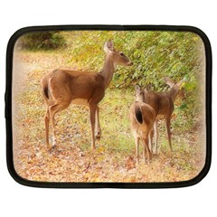 Deer In Nature Netbook Sleeve (xl)