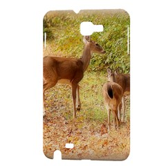 Deer in Nature Samsung Galaxy Note 1 Hardshell Case
