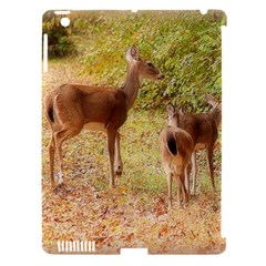 Deer in Nature Apple iPad 3/4 Hardshell Case (Compatible with Smart Cover)