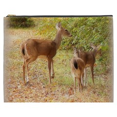 Deer In Nature Cosmetic Bag (xxxl)
