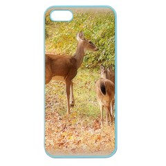 Deer In Nature Apple Seamless Iphone 5 Case (color)