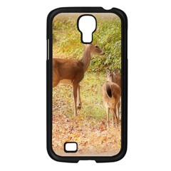 Deer in Nature Samsung Galaxy S4 I9500/ I9505 Case (Black)