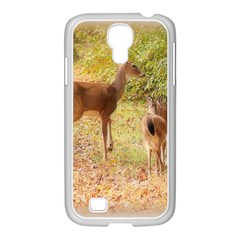 Deer in Nature Samsung GALAXY S4 I9500/ I9505 Case (White)