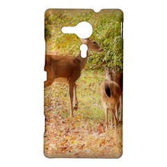 Deer in Nature Sony Xperia SP M35H Hardshell Case