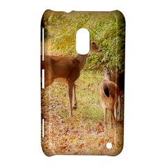 Deer in Nature Nokia Lumia 620 Hardshell Case