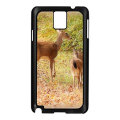 Deer in Nature Samsung Galaxy Note 3 N9005 Case (Black)