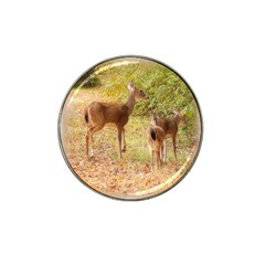 Deer in Nature Golf Ball Marker 4 Pack (for Hat Clip)