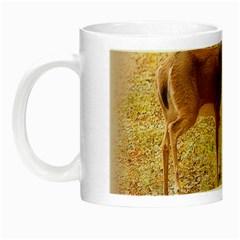 Deer in Nature Glow in the Dark Mug