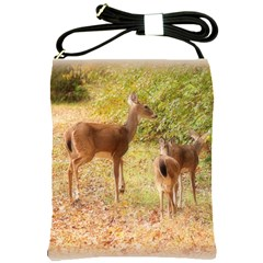 Deer In Nature Shoulder Sling Bag
