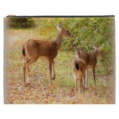 Deer in Nature Cosmetic Bag (XXXL)