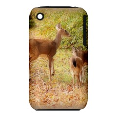 Deer in Nature Apple iPhone 3G/3GS Hardshell Case (PC+Silicone)