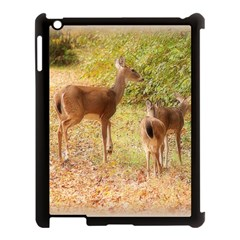 Deer In Nature Apple Ipad 3/4 Case (black)