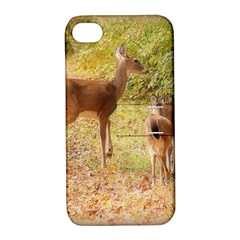 Deer in Nature Apple iPhone 4/4S Hardshell Case with Stand